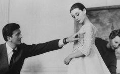 Rare Vintage: Monsieur Givenchy and Miss Hepburn