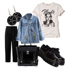 Style 7# by jokerblingbling on Polyvore featuring polyvore fashion style Hollister Co. Acne Studios Dr. Martens 3.1 Phillip Lim clothing
