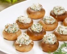 Champignons farcis au fromage frais et aux herbes : Savoureuse et équilibrée | Fourchette & Bikini
