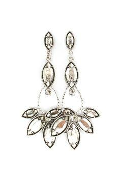 interesting chandelier earrings