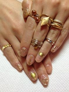 110 Best Crystal Nails Images On Pinterest Pretty Nails Cute
