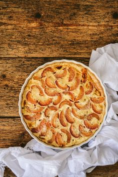 Clafoutis Weight Watchers aux abricots - Mauricette French Food