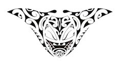 polynesian designs and patterns | this tribal polynesian tattoo is designed for the lower back area