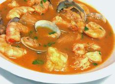 Comparte Recetas - Sopa de Pescado y Marisco
