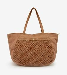 Ameline Woven Leather Bag