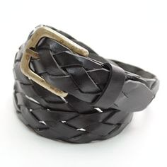 (JPB026-BLACK) Casual Leather Belt from W28 to W36