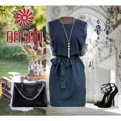Oasap by sarahguo on Polyvore featuring modern