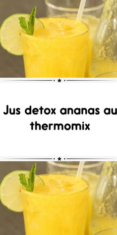 Pineapple detox juice with Thermomix is ​​an ideal cocktail to start the day. The Thermomix recipe f Detox Thermomix, Thermomix Desserts, Pineapple Detox, Pineapple Juice, Recipe F, Start The Day, Vinaigrette, Cocktails, Cooking