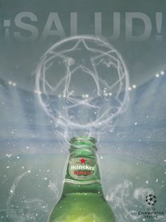 These advertisements were made by Arturo Davila (Digital Arts and Design, 2013 graduate) for the UEFA Champions League with Heineken as a sponsor.