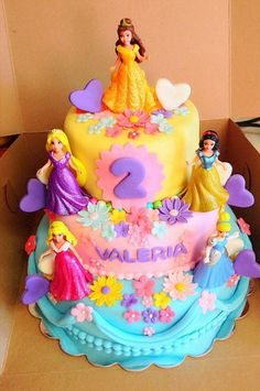 ... cake more disney princess birthday