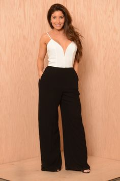 Out & About Jumpsuit - Ivory