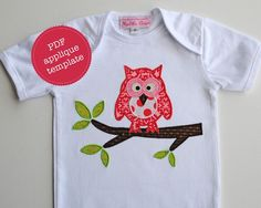 Gorgeous Owl applique