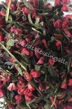 Raspberry Green 2 Oz In 2019 Tea Organic Green Tea Green Tea