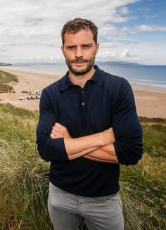 Jamie Dornan's Bulge Is All Anyone Can Talk About In This Picture Jamie Dornan, Mr Grey, Hommes Sexy, Hot Hunks, Irish Men, Actors, Calvin Klein Men, Christian Grey, Play Golf