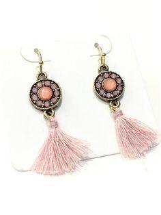 La Bella Donna - Γυναικεια σκουλαρικια με φουντακια Jewelery, Personalized Items, Jewlery, Jewels, Jewerly, Schmuck, Jewelry, Jewelry Shop