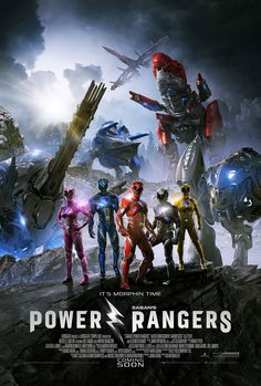 High resolution official theatrical movie poster ( of for Power Rangers Image dimensions: 1946 x Directed by Dean Israelite. Starring Dacre Montgomery, Naomi Scott, RJ Cyler, Becky G Power Rangers 2017, Go Go Power Rangers, Power Rangers Film, Power Rangers Poster, Streaming Vf, Streaming Movies, Hd Movies, Movies To Watch, Movies Online