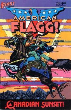American Flagg by Howard Chaykin.
