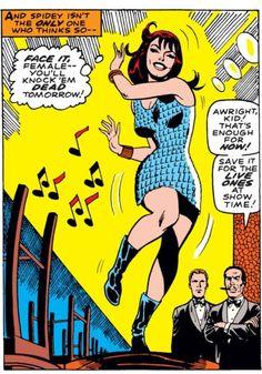 Mary Jane Watson in Amazing Spider-Man #59