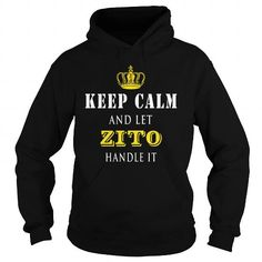 Awesome Tee  KEEP CALM AND LET ZITO HANDLE IT T-Shirts
