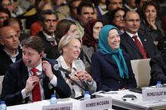مؤتمر دولي للمقاومه الايرانيه في باريس بحضور شخصيات أمريكيه واوربيه