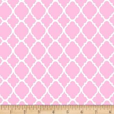 Honest Pink Disco Dots 100% Cotton Pul Fabric For Nappies & Wetbags Crafts