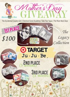 Mother's Day $100 Target Gift card giveaway - Eat, Drink, and Save Money