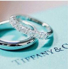Beautiful matching his and hers bands.
