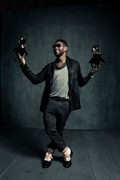 Usher. He's just incredible. His voice, his music, his performing.