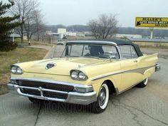 1958 Ford Fairlane 500 Convertible
