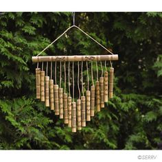 Some Easy DIY Bamboo Projects - No matter you are looking to make some large structure or small computer cases, bamboo will be your natural choice because it is lightweight, strong a. Diy Bamboo, Bamboo Trellis, Bamboo Poles, Bamboo Art, Bamboo Crafts, Bamboo Fence, Bamboo Ideas, Bamboo Floor, Bamboo Wind Chimes