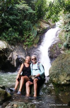 Things we did today...: There's This Place... La Soplaera Falls
