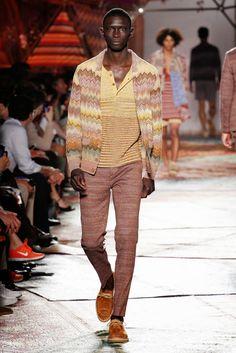Male Fashion Trends: Misoni Spring/Summer 2015 | Milan Fashion Week