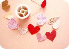 Teeny Tiny Valentine garland