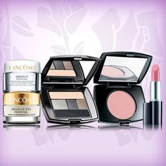 March 10th One Day Sale on Lancome.com! Enter code MARCH1 at checkout to receive 5 deluxe samples and free shipping with any 49.00 order.