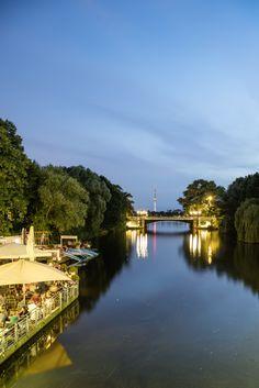 Anleger Mundsburger Brücke | Bildschönes Hamburg