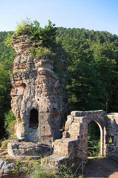 Wasgau News - Aktuelle News aus der Region: Burgruine Frönsburg bei Niedersteinbach (Elsass) -...