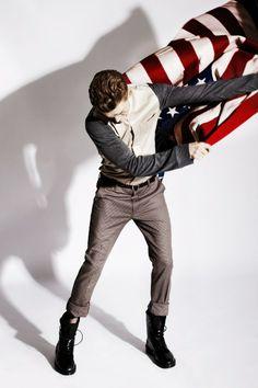 FASHIONISTO MAGAZINE Fashion styling; Gemma Capone, Judy Inc #fashion #fashionisto #menswear #style #model #clothes #flag #men #man #clothes