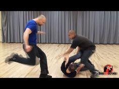 """Defense against """"Stomping"""" in the Street Krav Maga Self Defense, Self Defense Moves, Self Defense Martial Arts, Krav Maga Techniques, Self Defense Techniques, Different Martial Arts, Mixed Martial Arts, Marshal Arts, Learn Krav Maga"""