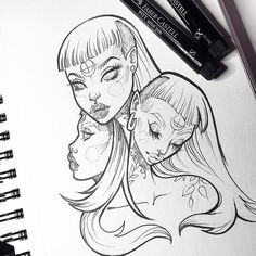 Super random. Doodles keep me sane. ✍ #graphicartery #art #artist #artwork…