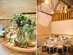 Callie by Jenny Packham For A Rustic Inspired Barn Wedding