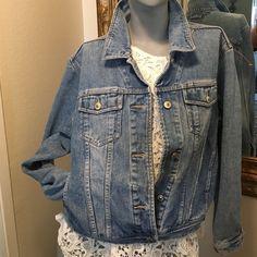 Cute! Denim jacket New Button down nice denim jacket Xhilaration Jackets & Coats Jean Jackets