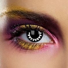 Cog Coloured Contact Lenses (1 Year)