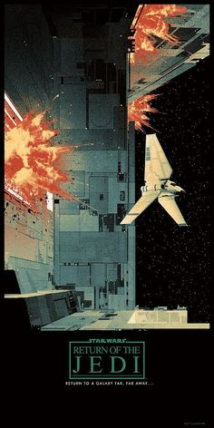 The Geeky Nerfherder: #CoolArt: 'Star Wars Saga' Triptych Set by Matt Ferguson