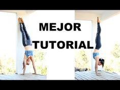 Parada de manos paso a paso - handstand tutorial - 100% éxito - YouTube