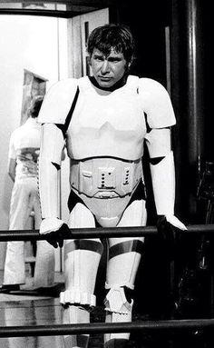 Han don't look too happy