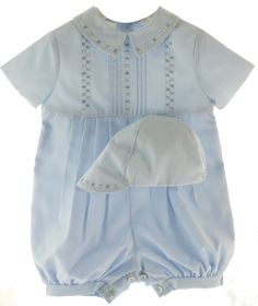 6530ee3f8 Image 1 Boy Baptism Outfit, Smocked Baby Dresses, Romper Outfit,  Christening Gowns Girls