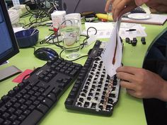 Plant a grass garden in your coworker's keyboard      In this certain day, people use to do fun an...