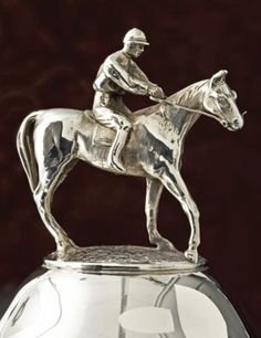 Some Of The Handsomest Records Human Endeavor Were Sterling Silver Trophy Cups