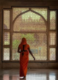 It will be stoning as a room divider...India in orange