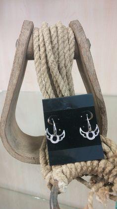 Horseshoe & Wings Earrings